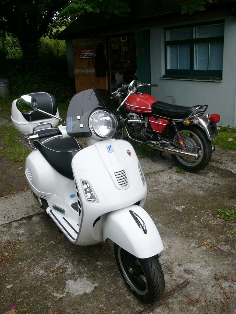 Moto Simpatico Reviving And Restoring Old Italian Motorcycles Vespa Gt200 Fuse Box Location Then
